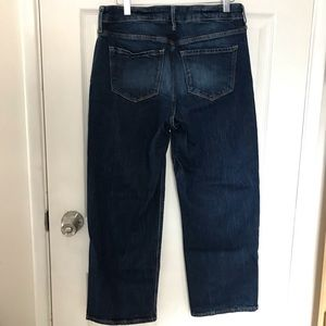 Old Navy Slim Wide Leg High Waist Denim Jeans